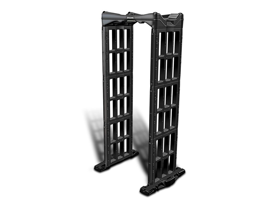 Nešiojami, arkiniai metalo detektoriaus vartai M-Scope