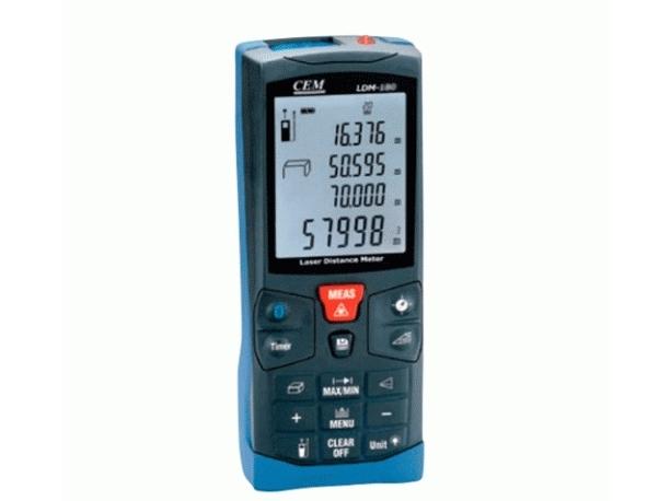 Lazerinis atstumų matuoklis LDM-200