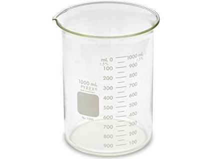 Stiklinis graduotas 1000 ml matavimo indas