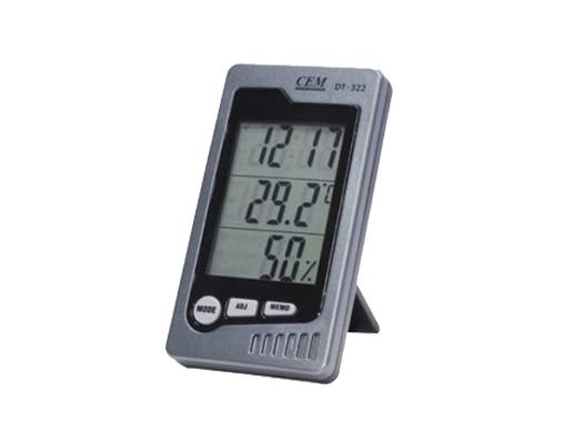 Vidaus patalpų temperatūros ir drėgmės matuoklis DT-323