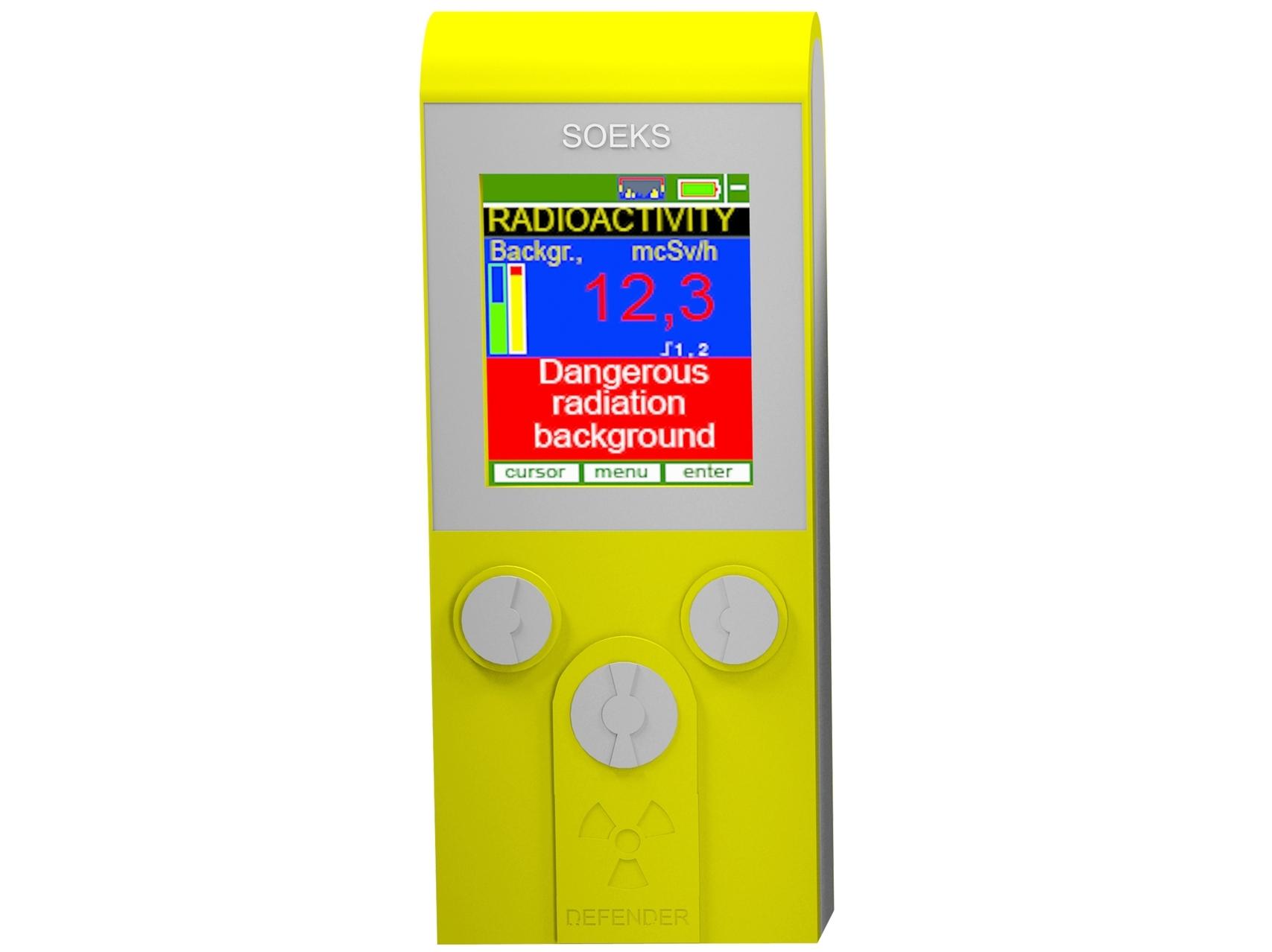 Geigerio skaitiklis, radiacijos detektorius, dozimetras DEFENDER