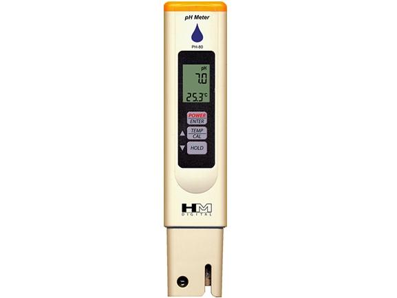 pH ir temperatūros matuoklis PH-80