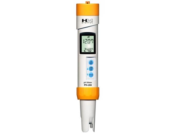 Vandeniui atsparus pH matuoklis PH-200