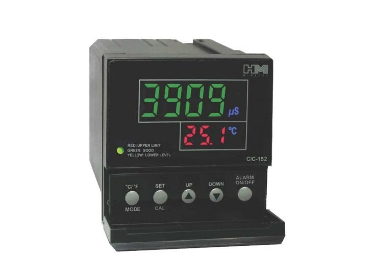 Dvigubos kontrolės dozavimo/įpurškimo TDS/EC monitorius CIC-152