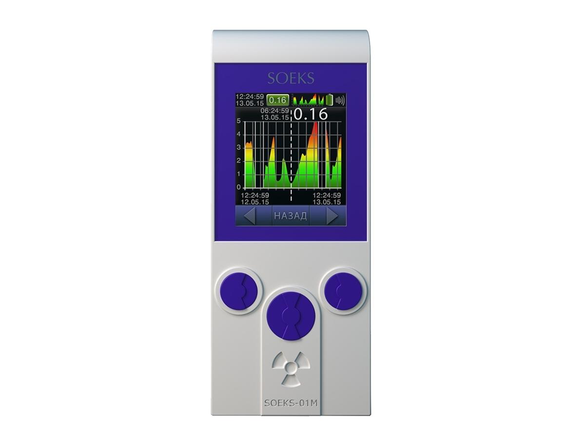 Radiacijos detektorius - dozimetras PRIME