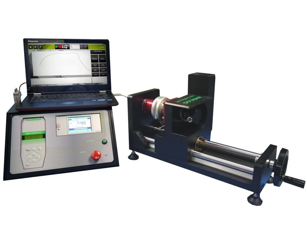 Automatinis sukimų testavimo prietaisas DriveTwist