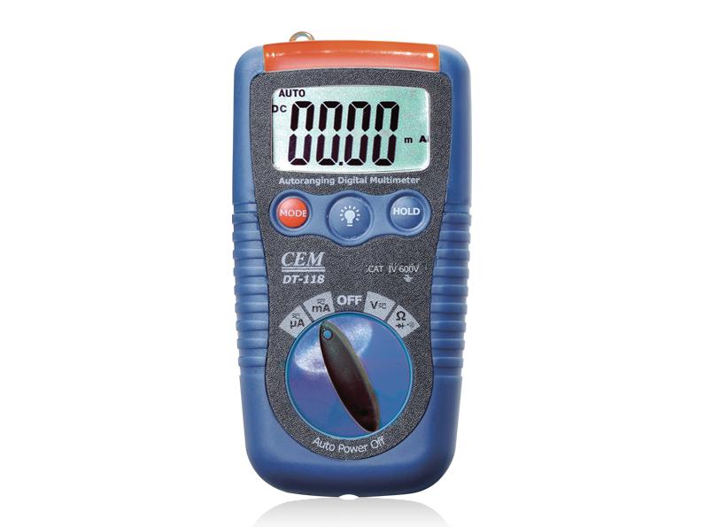 Skaitmeninis multimetras DT-118