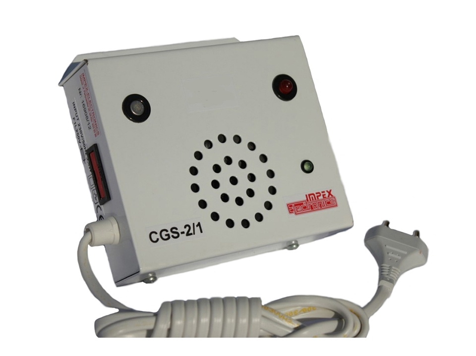 Propano ir butano dujų detektorius CGS-2/1 1P 230V