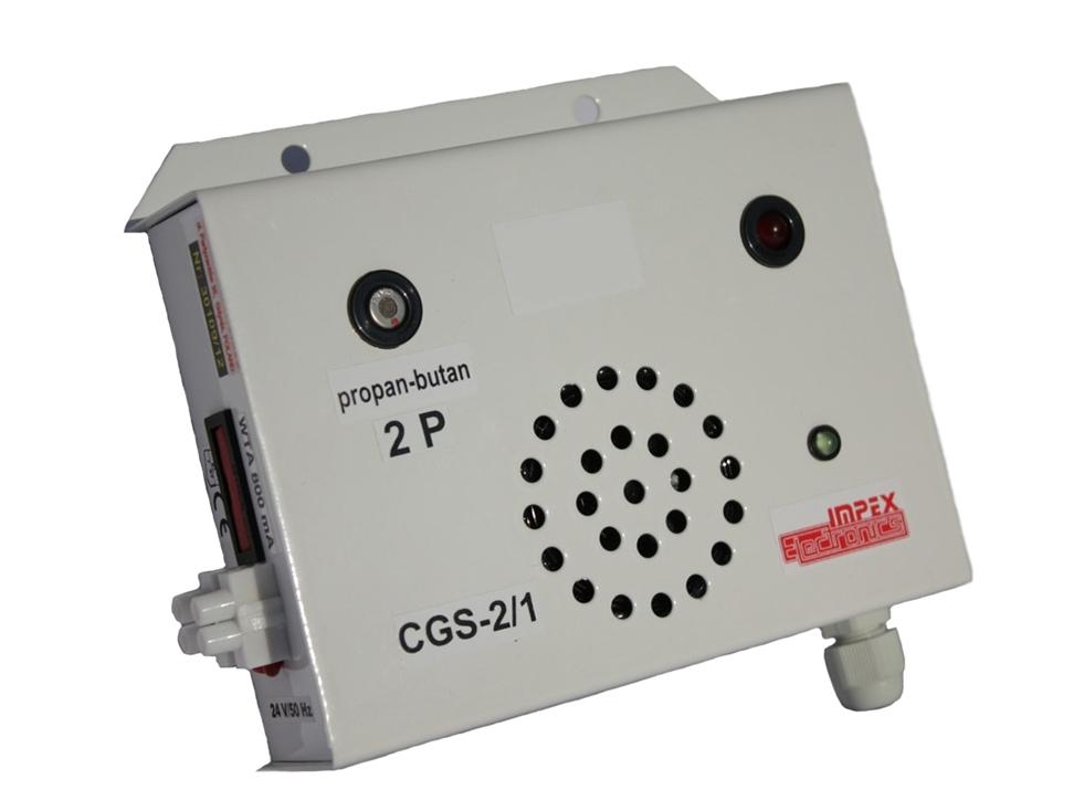 Propano butano dujų nuotėkio detektorius CGS-2/1 2P 24V