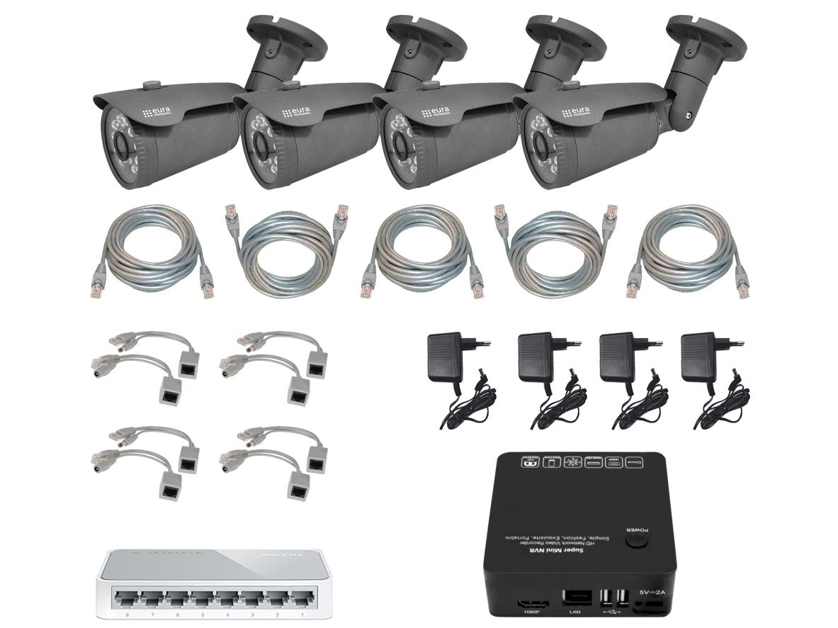 Vaizdo stebėjimo sistemų rinkinys MSP-11C5