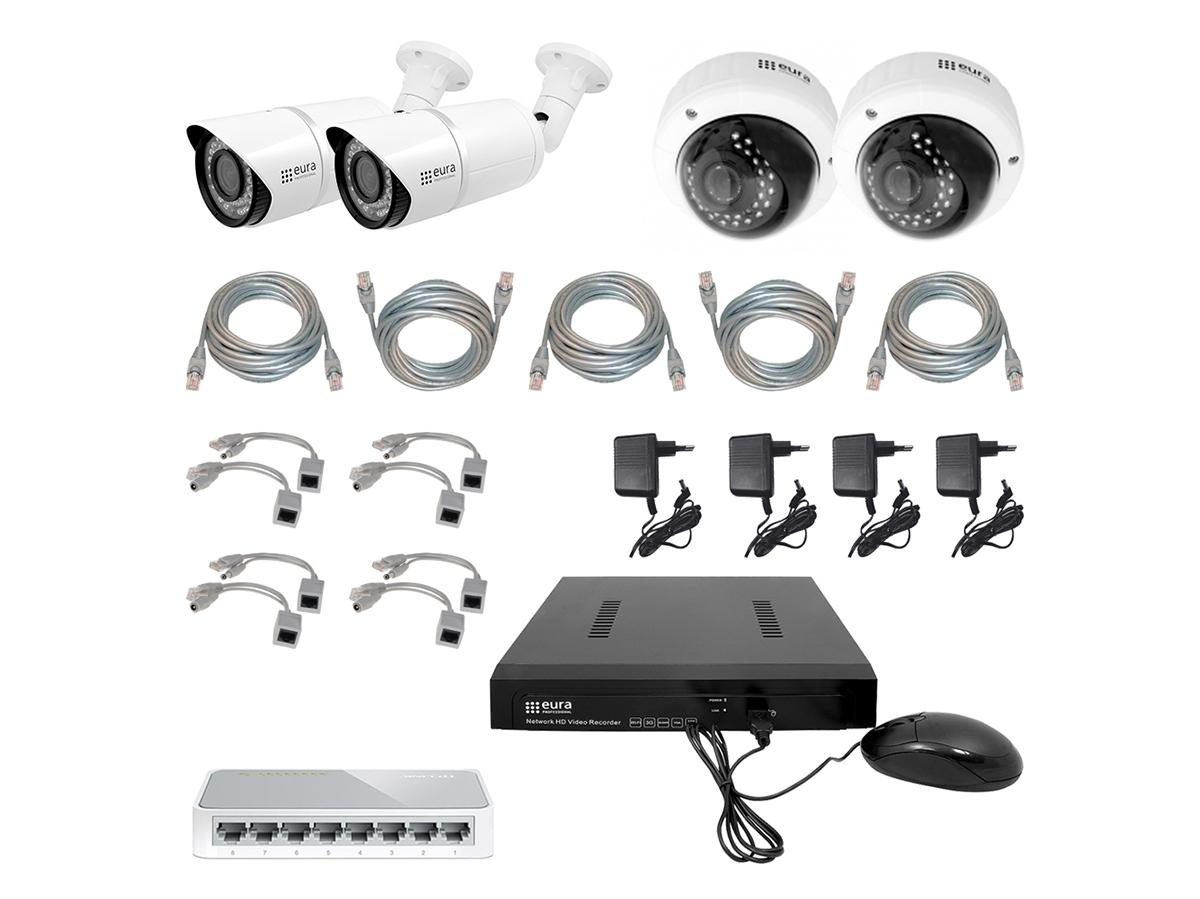 Vaizdo stebėjimo sistemų rinkinys MSP-08C5