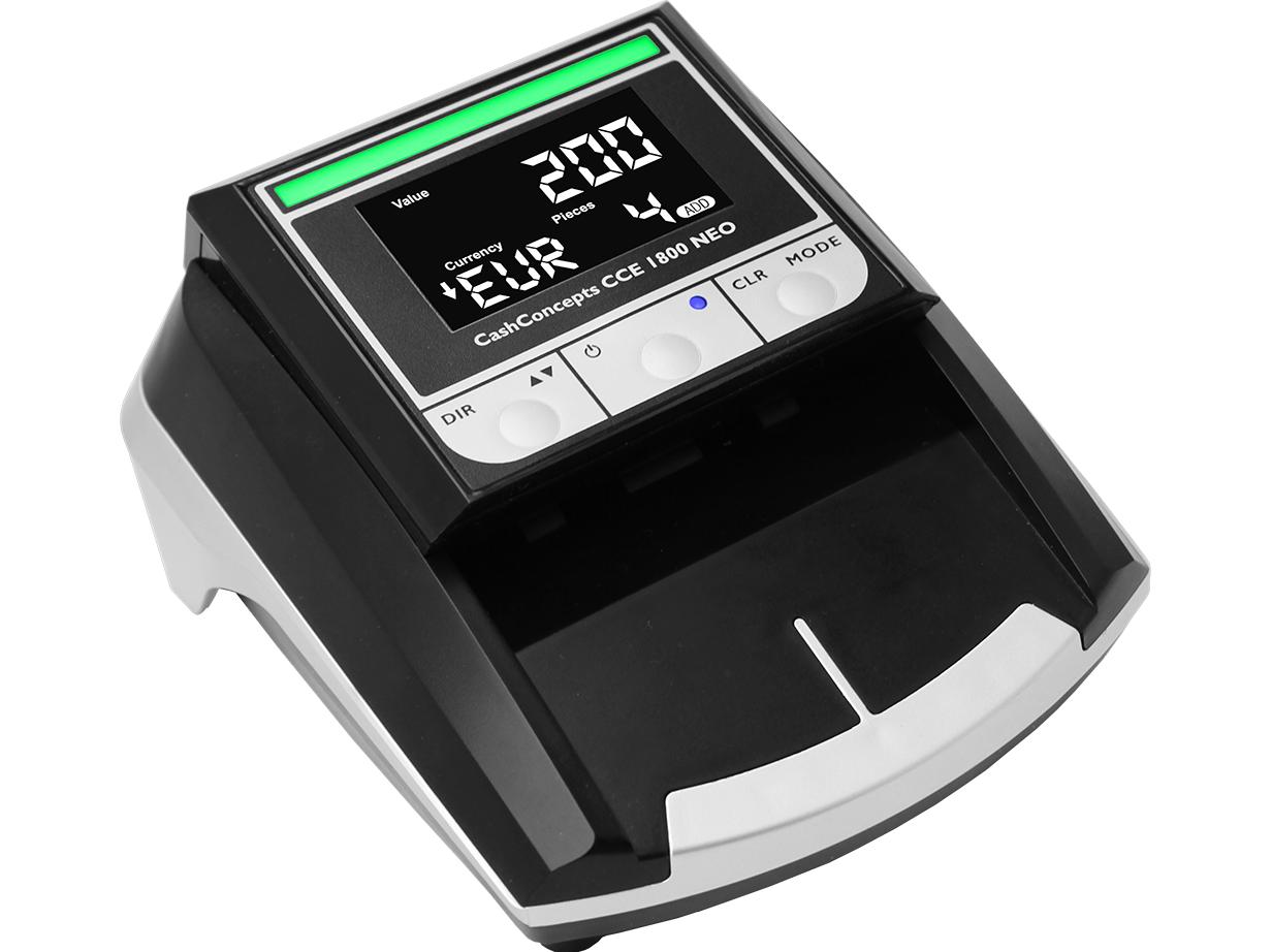 Banknotų tikrinimo aparatas CCE 1800 NEO