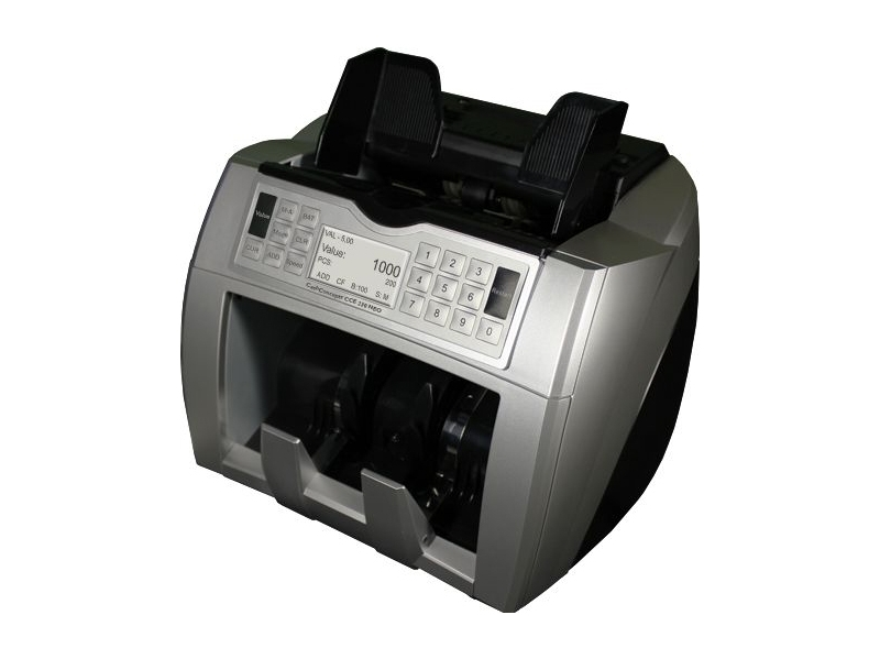 Banknotų tikrinimo ir skaičiavimo aparatas CCE 230 Neo