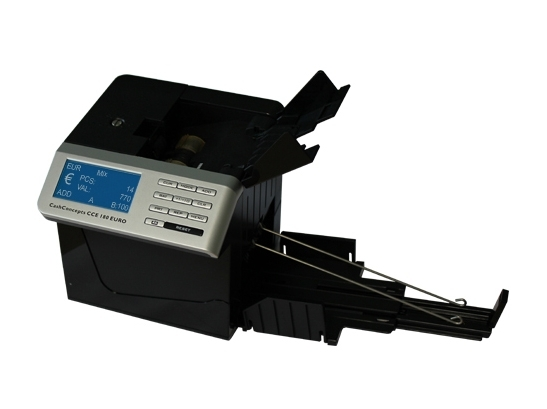 Banknotų tikrinimo ir skaičiavimo aparatas CCE 180 Euro