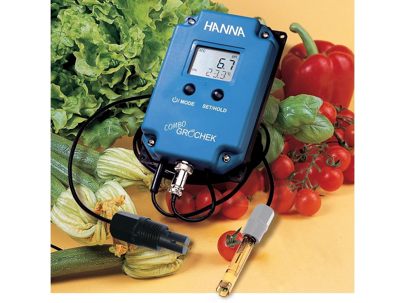 pH, TDS, temperatūros matuoklis HI991404
