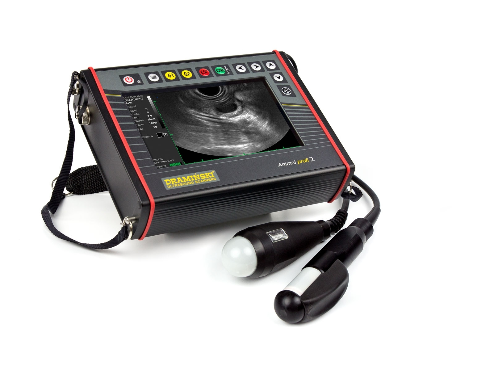 Veterinarinis ultragarso skeneris Animal profi 2