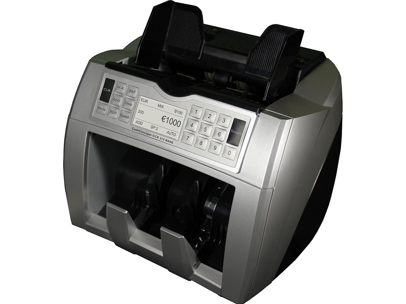 Banknotų tikrinimo ir skaičiavimo aparatas CCE 315 Base