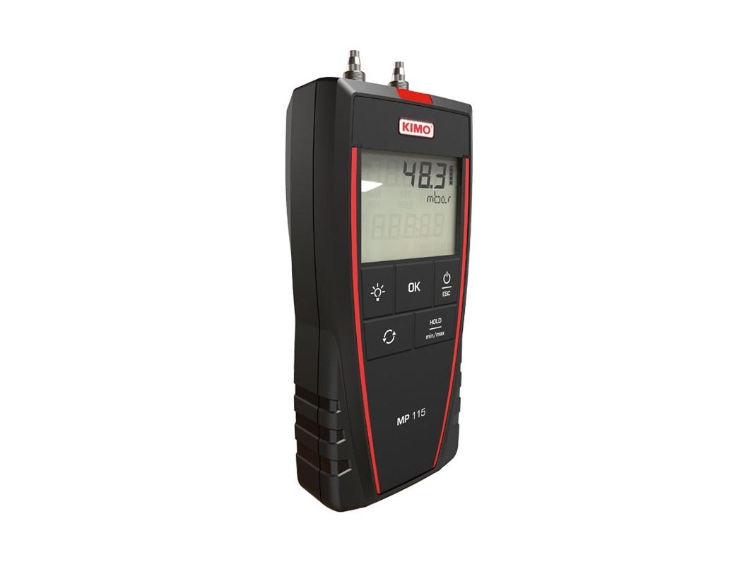 Skaitmeninis mikromanometras KIMO MP 115