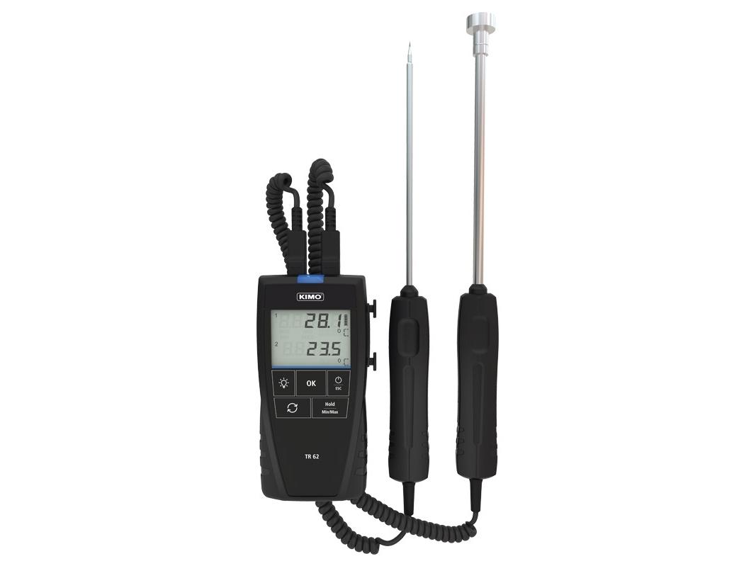 Skaitmeninis termometras KIMO TR 62