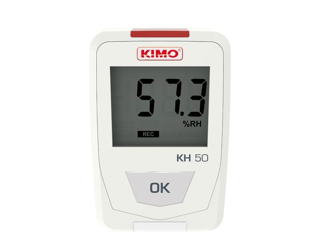 Temperatūros ir drėgmės duomenų kaupiklis KIMO KH 50