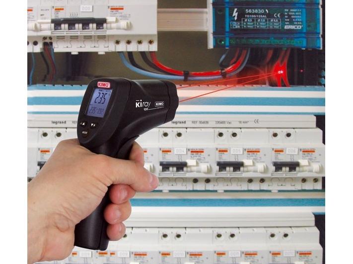 Infraraudonųjų spindulių termometras KIMO KIRAY 100