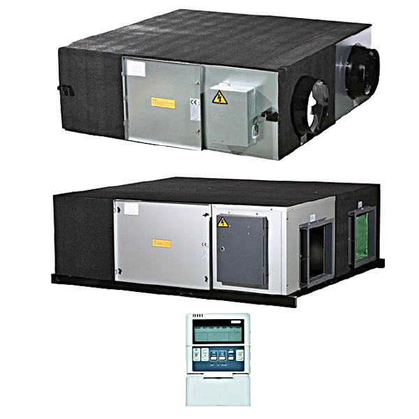 Ventiliatorius su šilumos atgavimu 400 (3.6)
