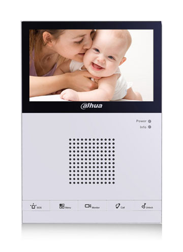 IP domofono monitorius VTH1550CS
