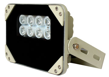 IR šviestuvas 45m, 90° XD-S-8-90IR