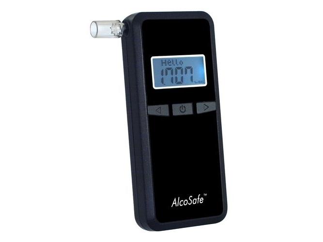 Alkotesteris AlcoSafe KX 6000S4 BLACK naujas dizainas + papildoma 2 m. garantija
