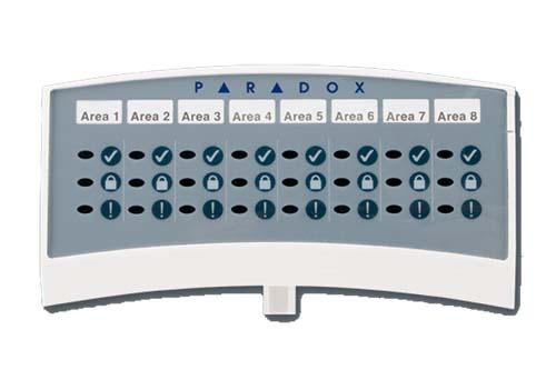 Indikacijos modulis Paradox ANC1