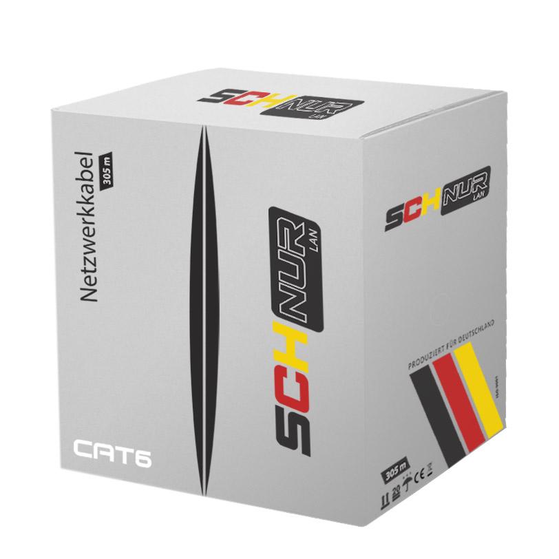 UTP vidaus kabelis SCHNUR CAT6+ (305m)