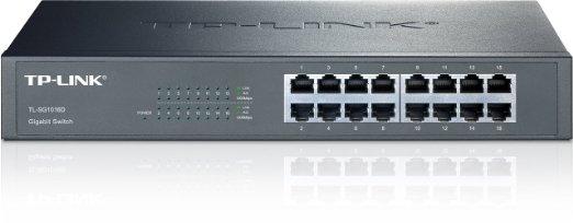 Komutatorius TP-Link TL-SG1016D