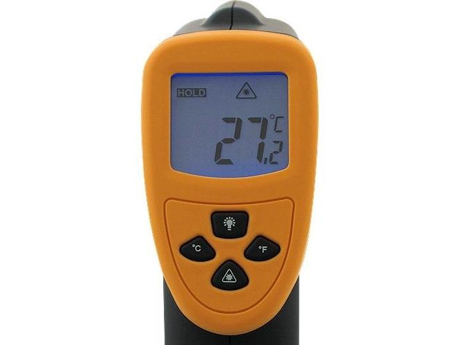 Infraraudonųjų spindulių termometras DT8750