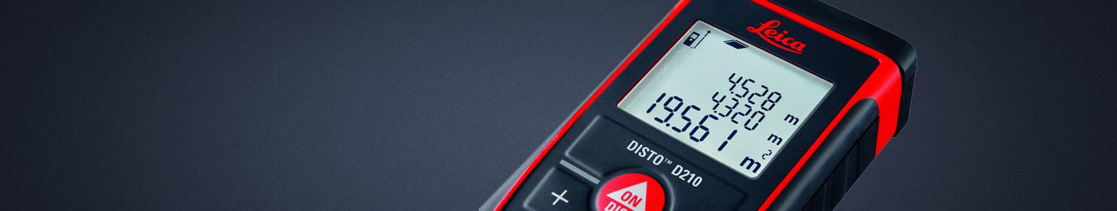 Atstumų matuokliai  Ultragarsiniai, lazeriniai atstumų matuokliai darbui vidaus patalpose ir lauke