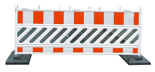 Plastikinis eismo užtvaras 2000 x 1000 mm