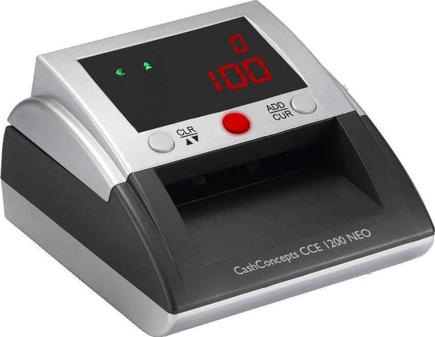 Banknotų tikrinimo aparatas CCE 1200 NEO