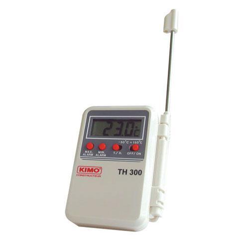 Temperatūros matuoklis su termistoriumi KIMO TH 300