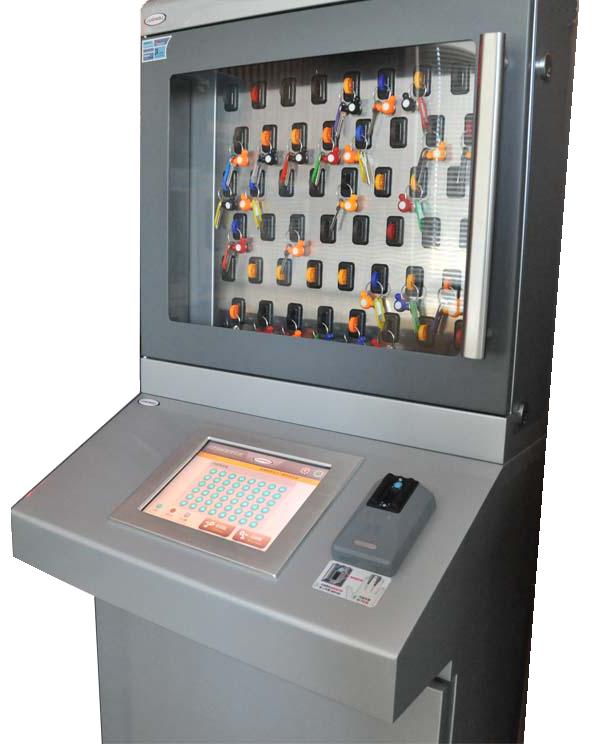 Raktų saugykla su biometriniu jutikliniu ekranu KMS-BIO