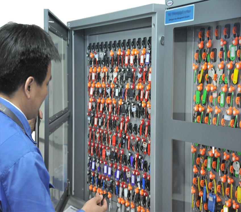 Pažangi raktų saugojimo sistema KMS-60