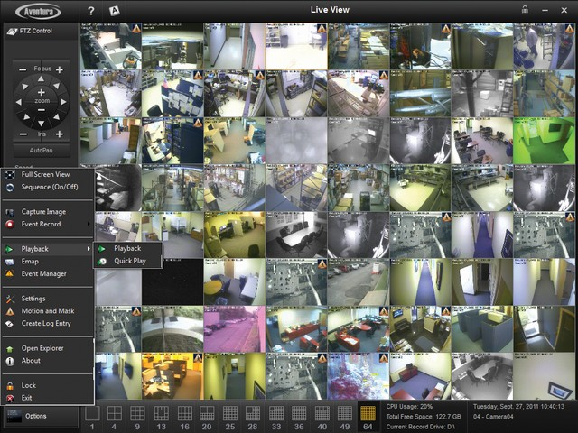 Vaizdo įrašų valdymo programa SWR-VMSB-4