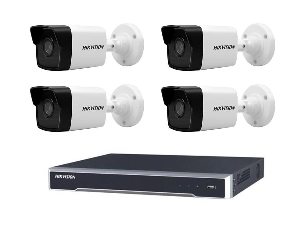 Lauko/vidaus stebėjimui skirtas komplektas su 8 kameromis Hikvision FRA-KOM-2