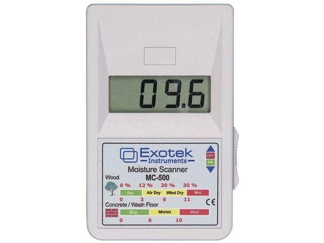 Drėgmės indikatorius, skirtas medienai ir statybinėms medžiagoms (nepažeidžiantis objekto) Exotek MC-500