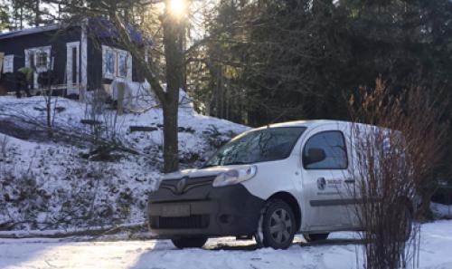 Pilna elektros instaliacija poilsio nameliuose Švedijoje