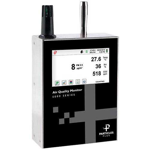 Nuotolinis oro kokybės ir aplinkos sąlygų matuoklis 5302-AQM