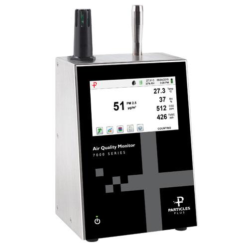 Nuotolinis dalelių skaitytuvas / aplinkos stebėjimo prietaisas 7302-AQM