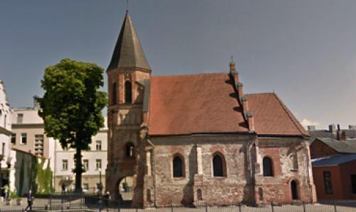 Kauno Šv. Gertrūdos bažnyčios ir vienuolyno pastatų komplekse įrengta vaizdo stebėjimo sistema