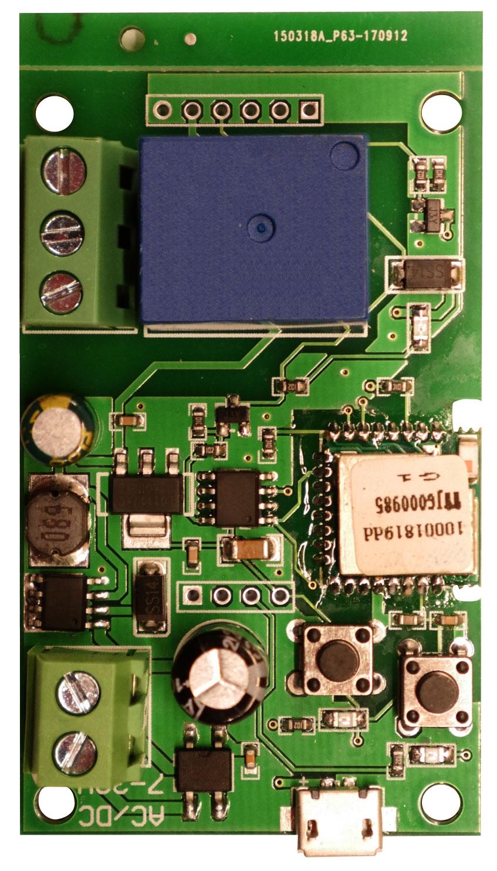 WiFi valdiklis automatinių vartų valdymui WS-70H1