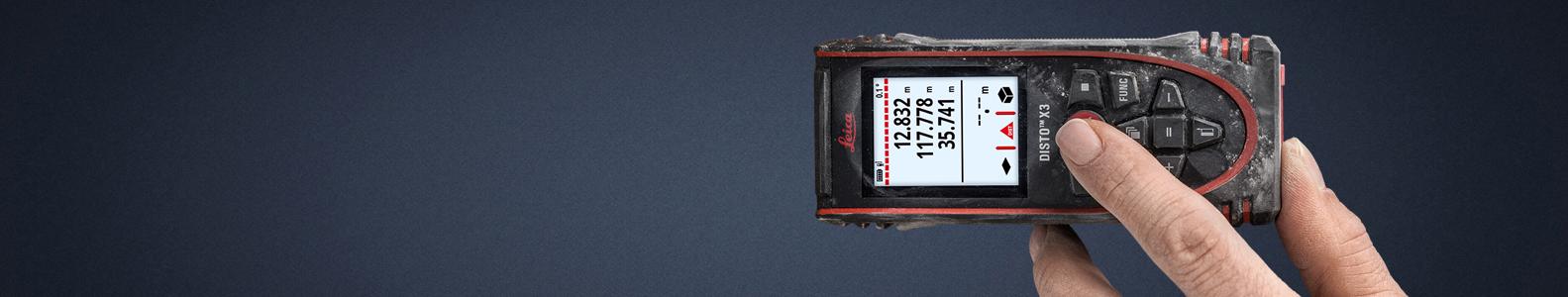 Leica lazeriniai atstumų matuokliai