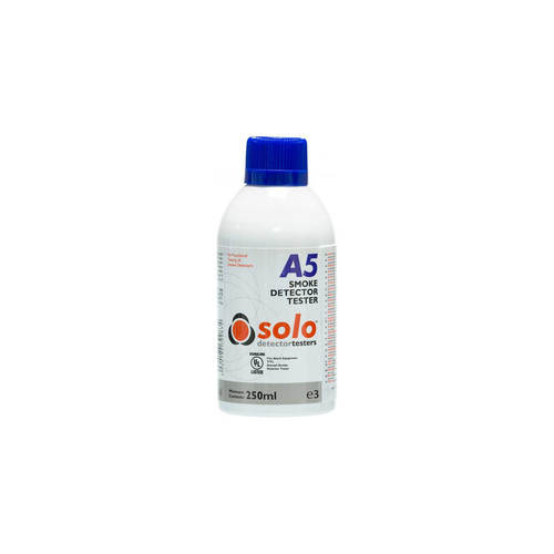 Aerozolinis dūmų jutiklio testeris Solo A5 (250 ml)