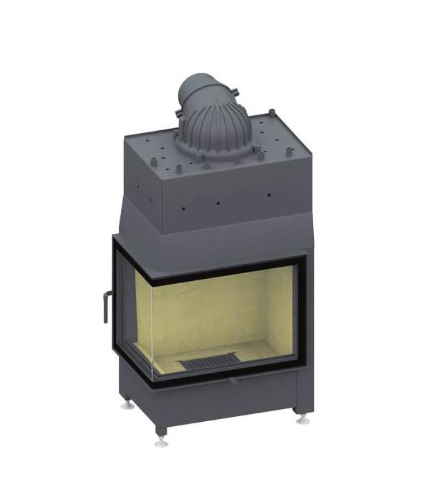 Plieninis židinio ugniakuras SCHMID EKKO W L 67(45)51 S